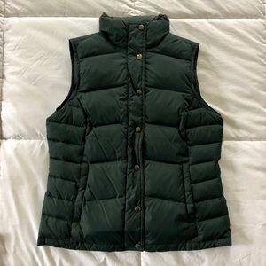 Lands' End Women's Winter Down Puffer Vest